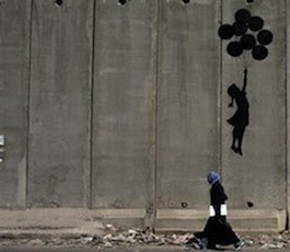 Banksy Israel Wall Grafitti
