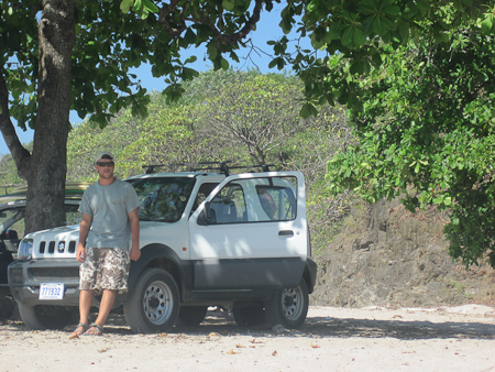 The Jimmy - rental car in Nicoya