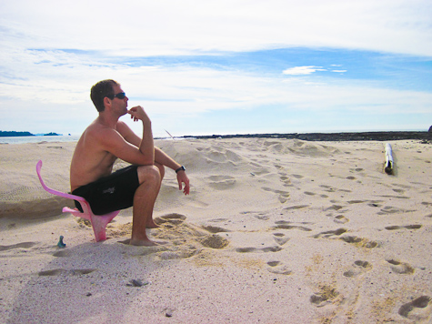 Deserted Island Contemplation