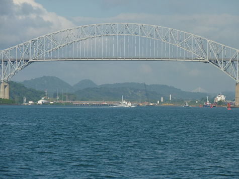 Bridge of the Americas - Pacific Entrance to the Panama Canal